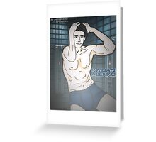 "ME - ""To raise the troops"" Kaidan poster Greeting Card"