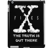 X-Files Grunge iPad Case/Skin