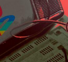 RETRO-CRT - SONY PlayStation Sticker