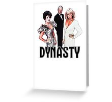 Dynasty 2 (color) Greeting Card