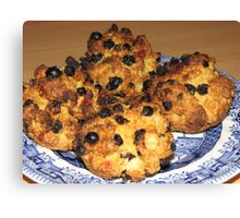 Oven Fresh - Tasty Rock Cakes Canvas Print