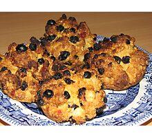 Oven Fresh - Tasty Rock Cakes Photographic Print