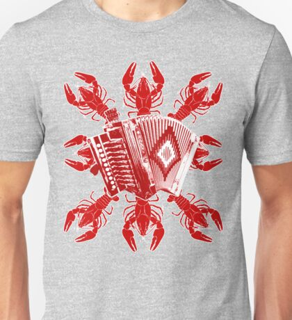 Cajun Music And Crawfish Unisex T-Shirt