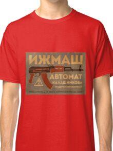 AK-47 (Grey) Classic T-Shirt