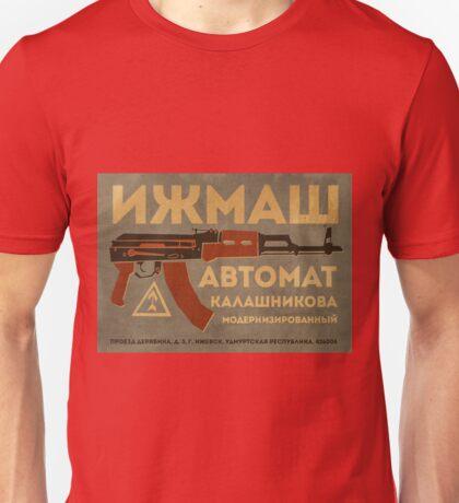 AK-47 (Grey) Unisex T-Shirt