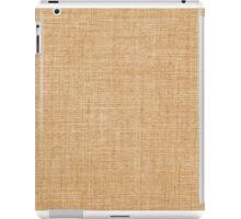 canvas texture iPad Case/Skin