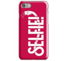 Selfie! - Red iPhone Case/Skin