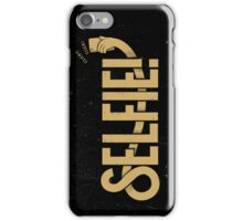 Selfie - Black and Gold iPhone Case/Skin