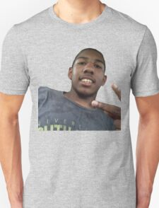 Miles drenched in swat T-Shirt