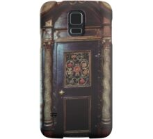 Door at side of nave St Mary's Bergen Norway 198406130017 Samsung Galaxy Case/Skin
