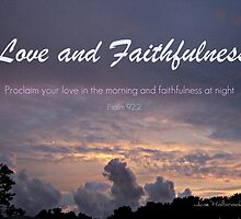 Love and Faithfulness by June Holbrook