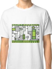 Metal Lab - Ghost Gear Green - Danny Phantom Classic T-Shirt