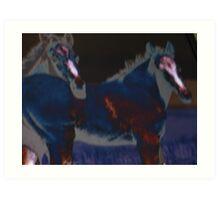 dark horse(s) Art Print
