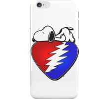 snoopy stealie pic iPhone Case/Skin