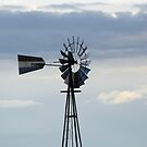 Windmill in New Mexico by janetmarston