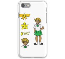 Misato Fujioka Sticker Sheet iPhone Case/Skin