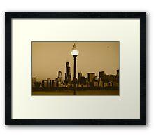 CHICAGO SUNRISE Framed Print