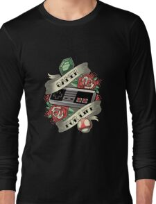 Gamer For Life Long Sleeve T-Shirt