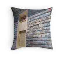 Fishing Shed Throw Pillow
