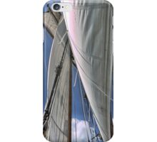 Sailing with the wind. iPhone Case/Skin