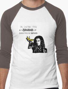 Dark Willow - Eat That Banana! Men's Baseball ¾ T-Shirt