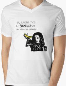 Dark Willow - Eat That Banana! Mens V-Neck T-Shirt