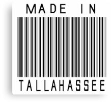Made in Tallahassee Canvas Print
