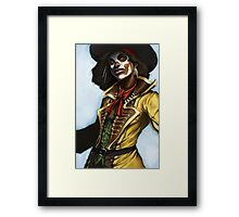 Pirate Woman Framed Print