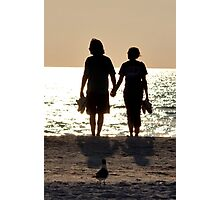 Silhoutte Couple Photographic Print