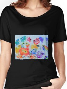 Expression in eyes Women's Relaxed Fit T-Shirt