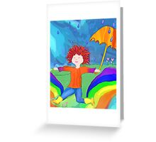 Splash - Chase the Rainbow Greeting Card