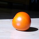 The sunning tomato by Mike Cressy