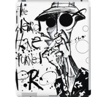 The Weird Have Turned Pro iPad Case/Skin