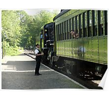 All Aboard! The Valley Steam Train  Poster