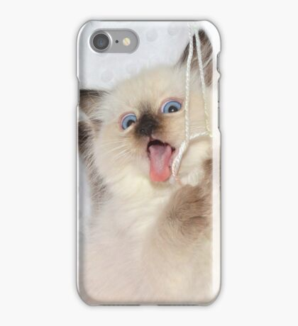Goofy Kitty iPhone Case/Skin