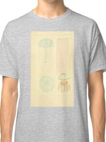 The Animal Kingdom by Georges Cuvier, PA Latreille, and Henry McMurtrie 1834  551 - Zoophytes Plant-Like Animals Classic T-Shirt