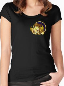 Pocketspace Hoopa -SHINY- Women's Fitted Scoop T-Shirt