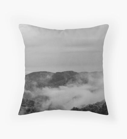 Relaxing Clouds Throw Pillow