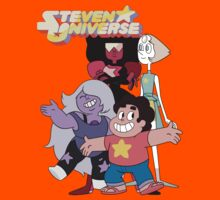 Steven universe and the gems Kids Tee