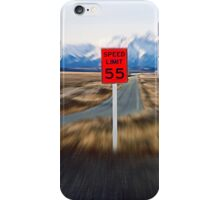 Slow Down iPhone Case/Skin