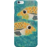 FISH PASSING IN THE NIGHT iPhone Case/Skin