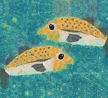 FISH PASSING IN THE NIGHT by Jean Gregory  Evans