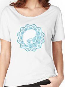 aztec yin yang Women's Relaxed Fit T-Shirt