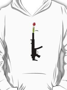 put tulips on the end of this T-Shirt