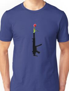 put tulips on the end of this Unisex T-Shirt