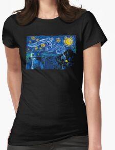 Starry Berk Womens Fitted T-Shirt