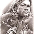 Kurt Cobain by Alleycatsgarden