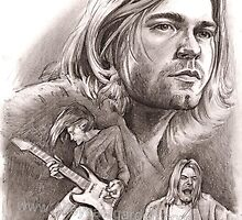 Kurt Cobain by Alleycatsgarden