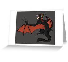Protective Babies - Drogon Greeting Card
