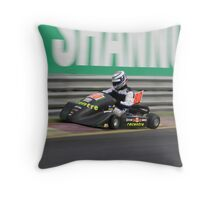 Out wide Throw Pillow